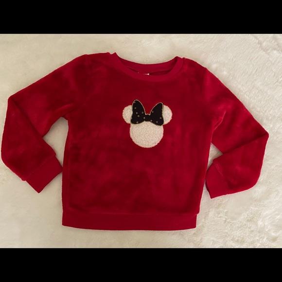 Disney Other - Girls Disney Minnie Long Sleeve pullover top sz 3t